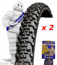 N°2 Copertone / Pneumatico 26 x 2.00 Bici MTB MICHELIN COUNTRY AT + N°2 CAMERE