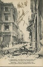 CARTE POSTALE / POSTCARD / GREECE / GRECE / SALONIQUE INCENDIE DE 1917