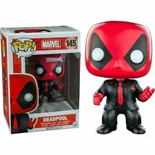 Deadpool Suit and Tie (145) Funko Pop Vinyl Figure BNIB