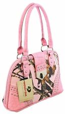 Mossy Oak Pink / Pink Camo Buckle Purse Camouflage Wild Western Bling Bag 09