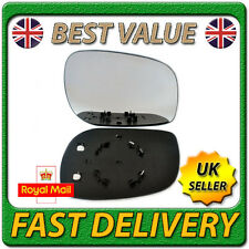 Right Driver Heated Electric Wing Mirror Glass for LAND ROVER FREELANDER 97-06
