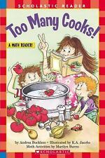 Too Many Cooks (level 3) (Hello Reader, Math) by Andrea Buckless, Good Book