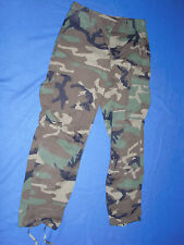 NWOT U.S. ARMY Wooland Camouflage Combat Pants size S/Short W27to31/L26.5-29.5