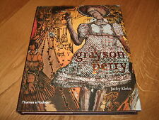 GRAYSON PERRY/JACKY KLEIN-GRAYSON PERRY-1ST-SIGNED-2009-HB-F-UNREAD-RARE