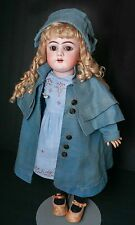 "Antique German Bisque Handwerck 23"" Fully Jointed Doll"