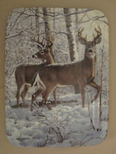 DEER collector plate ALERT TO THE SOUNDS  Persis Clayton Weirs WINTER RETREAT #2
