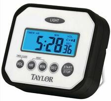 Taylor Splash & Drop Digital Timer Water Impact Heat Resistant Free US Shipping