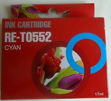 RE-T0552 17ml cyaan ink cartridge NIEUW cyan NEW EPSON STYLUS PHOTO R RX