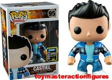 FUNKO POP 2015 SUPERNATURAL SUMMER CONVENTION CASTIEL FRENCH MISTAKE #95 N Stock