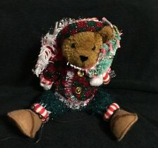 Avon Sparkling Holiday Fiber Optic Bear 2003 Christmas light changes colors