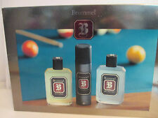 BRUMMEL  COFFRET EDC 125 ML+ AFTER SHAVE 125 ML + DEODORANT SPRAY BOITE NEUF