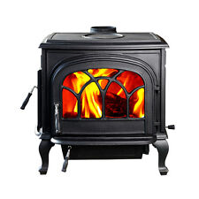 BIG SALE HiFlame HF737U Large Wood Burning Stove Paint Black New in box !!!
