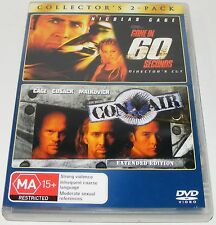 GONE IN 60 SECONDS / CON AIR--- (Dvd 2 Disc Set)