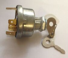 Universal Tractor Ignition Switch With 2 Lucas Type Keys JCB 4 Position Switch