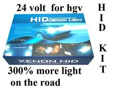 CANBUS FREE  XENON HID CONVERSION KIT H7 6000K FOR  HGV 24V  UK SELLER