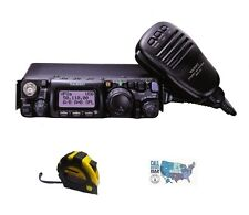 Yaesu FT-817ND HF/VHF/UHF QRP Portable Radio with FREE Radiowavz Antenna Tape!