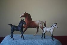 98 JC Penney SR, Breyer Horses #705398, COMPLETE Classic Appaloosa 3 pc Gift Set