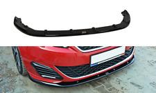 Cup Spoilerlippe schwarz für PEUGEOT 308 II GTI Front Spoiler Schwert Splitter