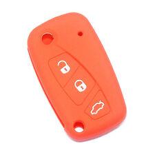 Silicone car key case cover for FIAT Panda /Stilo Punto Doblo Grande Bravo 500