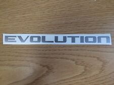 Mitsubishi Pajero Evolution Rear hatch decal /sticker ,ralliart, Various Colours