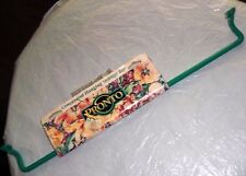 Pronto Vintage Garden Storage Organizer Bar Metal Enameled Green Tool Hanger etc
