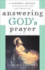 Answering God's Prayer : A Personal Journal with Meditations from God's Dream...