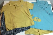 Gymboree Boy's Lot 4 Piece 2T Gecko Shirts Spring Summer Fall Short Slv Clothes