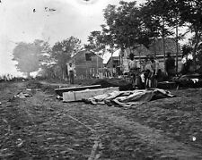 New 8x10 Civil War Photo: Burial of Dead after the Battle of Fredericksburg