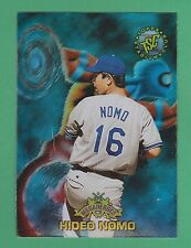 1996 Topps Stadium Club Megaheroes Hideo Nomo Los Angeles Dodgers #MH3 (KCR)