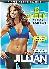 JILLIAN MICHAELS - 6 WEEK SIX PACK - DVD - REGION 2 UK
