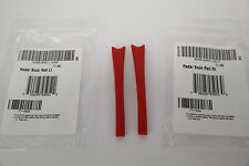 NEW AUTHENTIC Oakley RADAR PATH / PITCH / XL RED EARSOCKS Replacement GENUINE