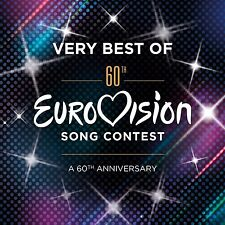 EUROVISION SONG CONTEST : THE VERY BEST OF (60th Anniversary) 2 CD SET (2015)