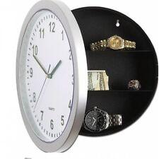 Caja Fuerte Reloj de Pared - Reloj Real Con Caja Fuerte Discreta Diseño Bisagras