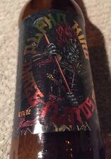 Three Floyds Brewery Alpha King Pale Ale Empty Bottle w/cap Advertising Graphics