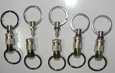 10 OEM Amflo air compressor quick release pull apart key chain coupler key ring