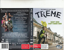 Treme-2010/13-TV Series USA-Complete First Season-4 Disc-DVD