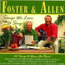 Foster & Allen-Songs We Love To Sing CD