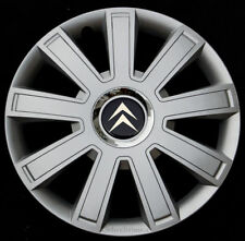 "Brand New silver 14"" wheel trims hub caps to fit Citroen  C1,C2,Saxo"