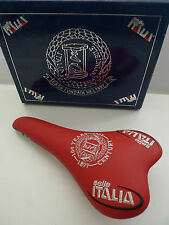 Vintage NOS Classic Selle Italia Century Anniversary saddle RED Boxed Mint RARE