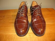 Cole Haan Dark Brown Oxford Split Toe Lace up Mens Size 9-D