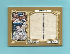 Cubs Ernie Banks 2014 Topps Gypsy Queen Jumbo Jersey Pinstripe Patch 08/10