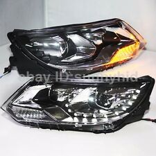For VW Tiguan LED Front Lamps D2H HID Xenon Projector Lens 2013 to 2015 Year LF