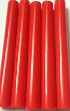 SALE!! 10 Pcs Hot Glue Gun Sticks in red - 12mm x 100mm