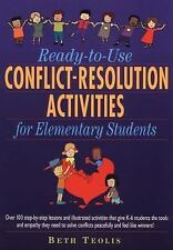 Ready-to-Use Conflict-Resolution Activities for Elementary Students-ExLibrary