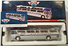 "Greyhound Fishbowl Skyline Transit Bus ""XL.I.R.R & SUBWAY"""