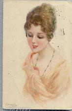 BOMPARD Donnina Glamour Girl PC Viaggiata 1920