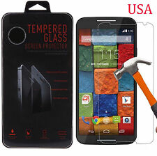 TEMPERED GORILLA GLASS SCREEN PROTECTOR FOR MOTOROLA Moto X2 (X 2nd Gen 2014)