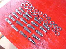 set of 20,12x1.5mm -1 & 3/8 long mag wheel lug nuts/washers,weld/others,ratrod ,