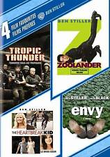 4 Film Favorites: Ben Stiller (Tropic Thunder, Zoolander, The Heartbreak Kid, En