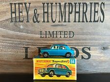 matchbox superfast no.64A-2.Rare Version mint OVP excellent from 1969/70